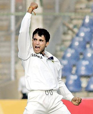 Sourav Ganguly enjoying mode