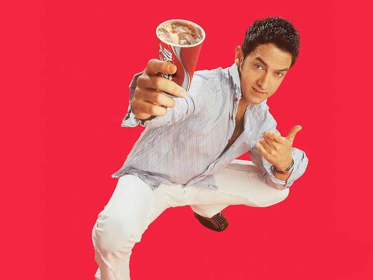 Aamir Khan coca cola commercial photo