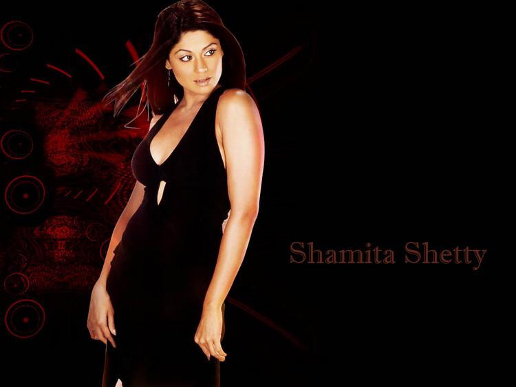 Shamita Shetty latest spicy wallpaper