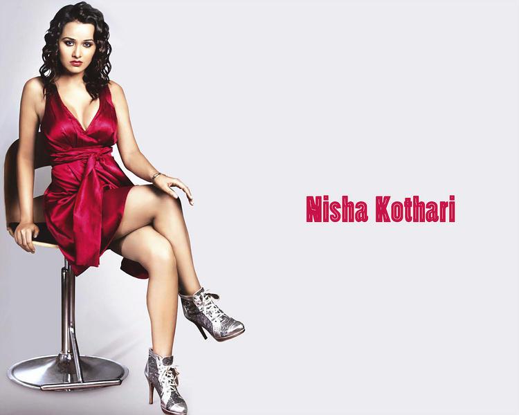 Nisha Kothari gorgeous hot wallpaper