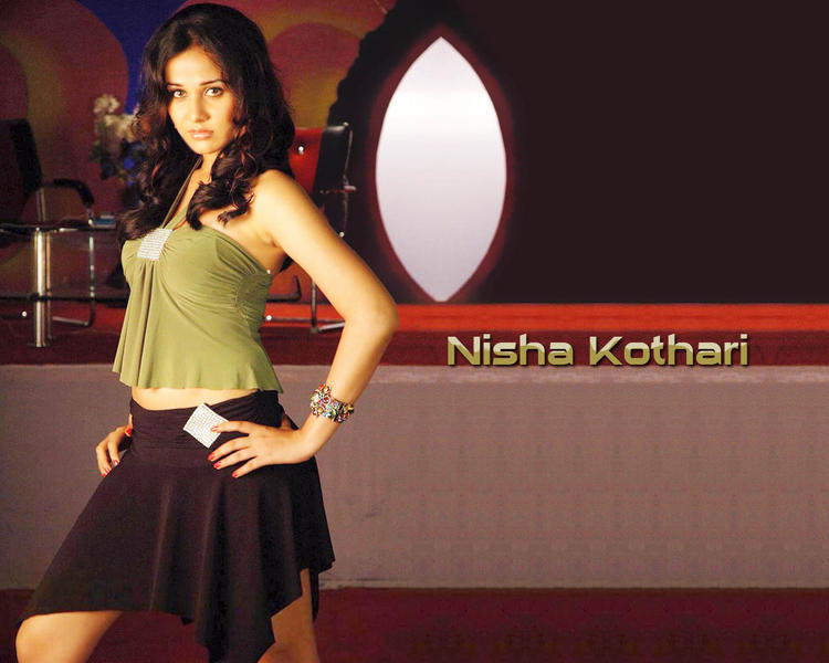 Glorious Nisha Kothari wallpaper