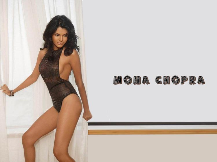 Mona Chopra hot bikini wallpaper