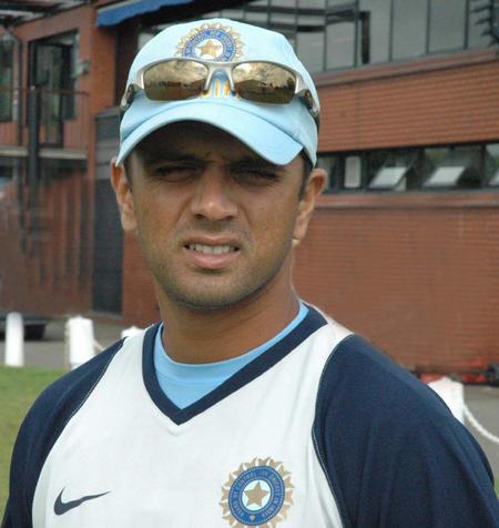 Star batsman Rahul Dravid pics