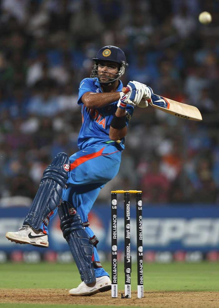 Virat Kohli caught and bowled by Dilshan