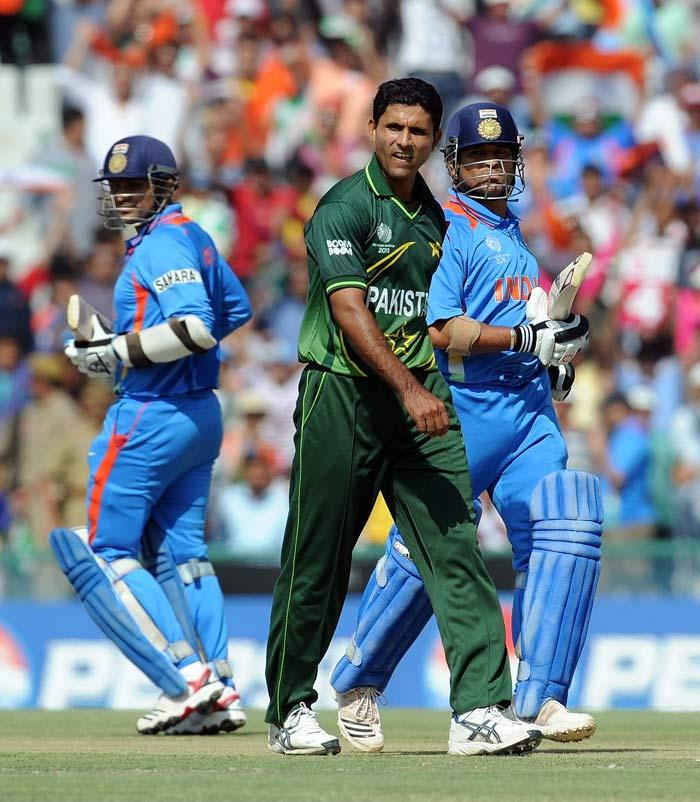 india vs pakistan semi final india made Virender Sehwag beat five boundaries in a single over