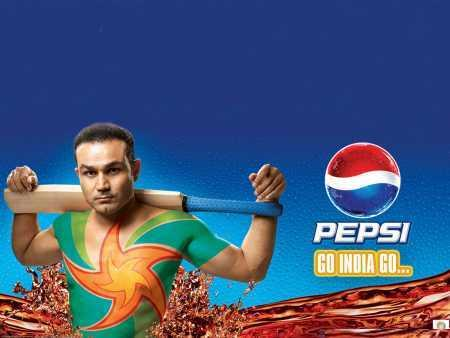 Icc Cricket World Cup  virender sehwag pepsi ads