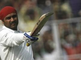 Team India Opener Virender Sehwag images