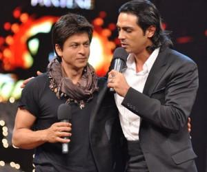 Arjun Rampal with shahrukh khan images