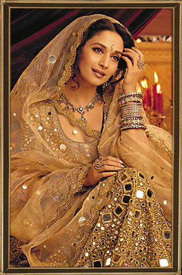 Madhuri Dixit in amazing saree