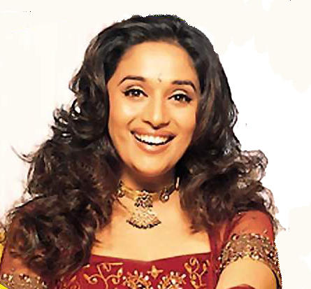 Madhuri Dixit with open smile