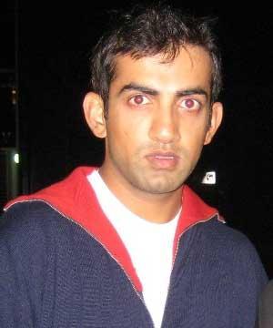 Gautam Gambhir hot look