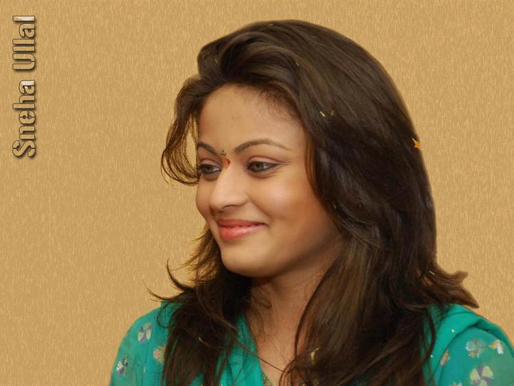 Sneha Ullal beautiful smile wallpaper