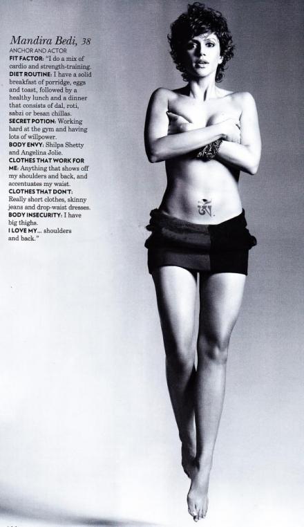 Mandira Bedi vogue india magazine