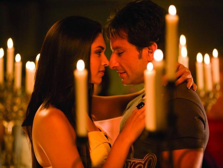Deepika Padukone and Saif Ali Khan romantic pic