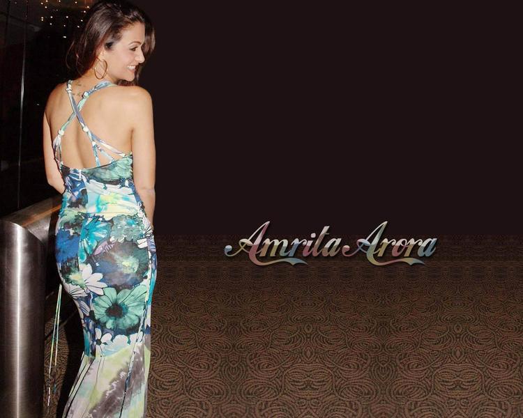 Amrita Arora sexy wallpaper