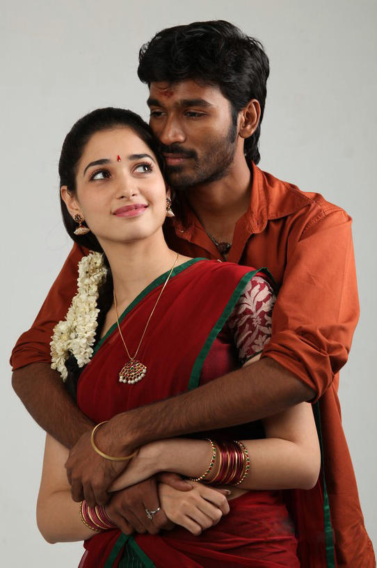 Dhanush in Tamil action movie 'Vengai' with Tamana