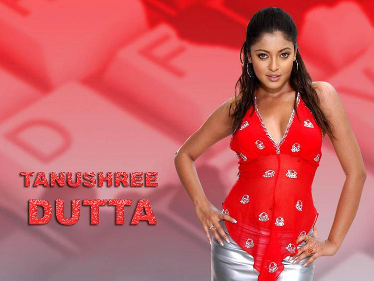 Tanushree Dutta red hot wallpaper