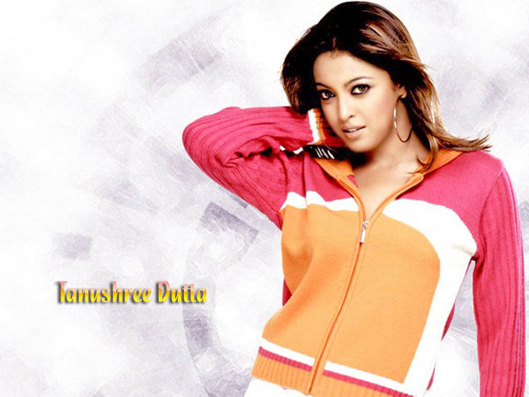 Tanushree Dutta Pose hot Wallpaper