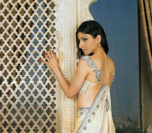 Soha Ali Khan in saree hot pics