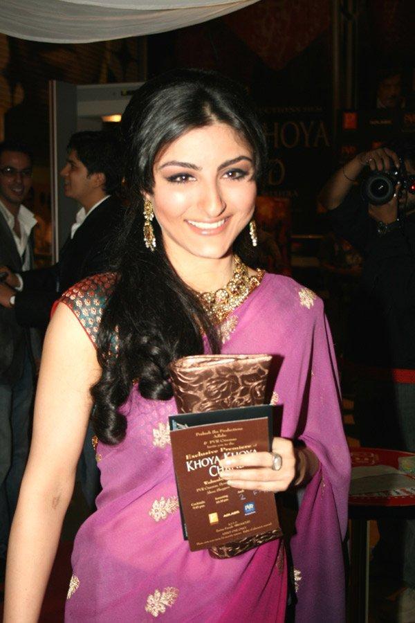 Soha Ali Khan in gorgeous saree