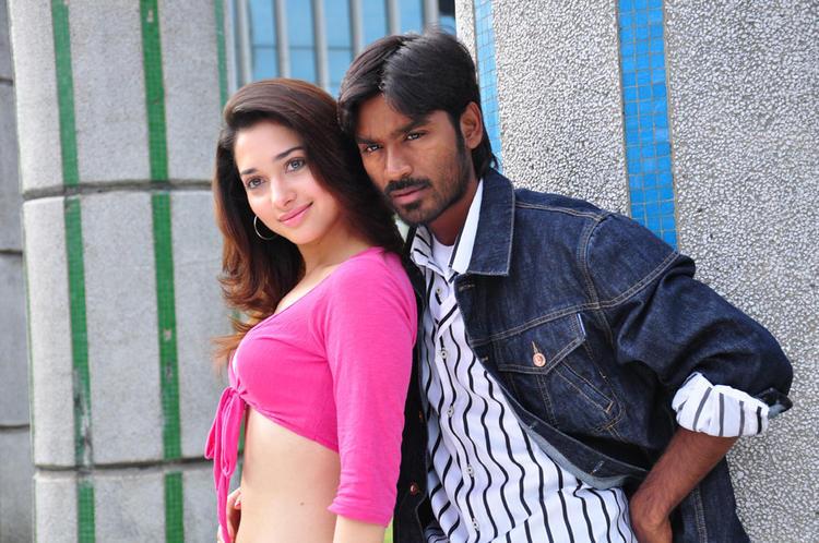 Vengai movie Dhanush Tamanna sexy Stills
