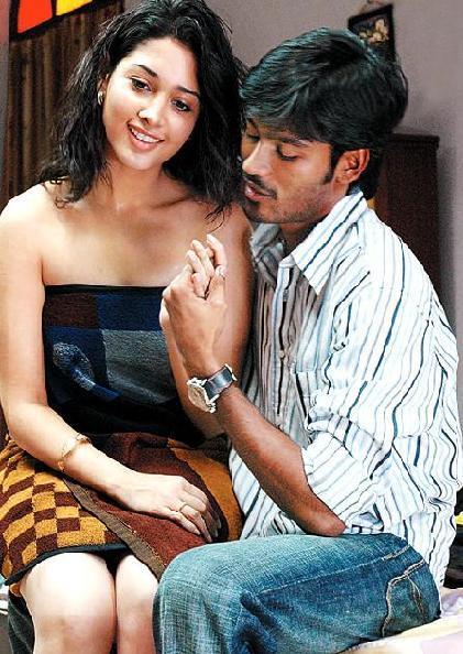 Dhanush Tamanna Hot stills from 'Vengai' movie