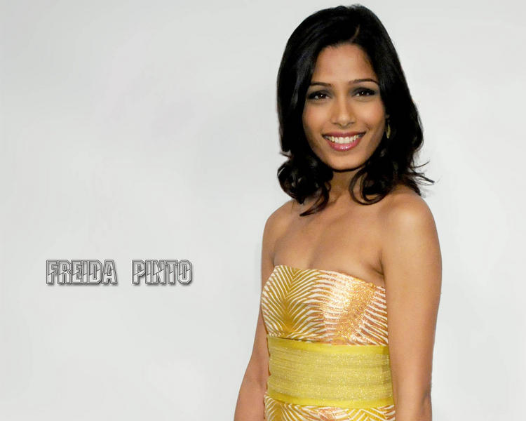 Gorgeous Freida Pinto's smile