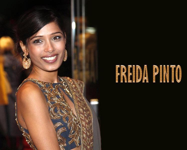 Freida Pinto sweet smile