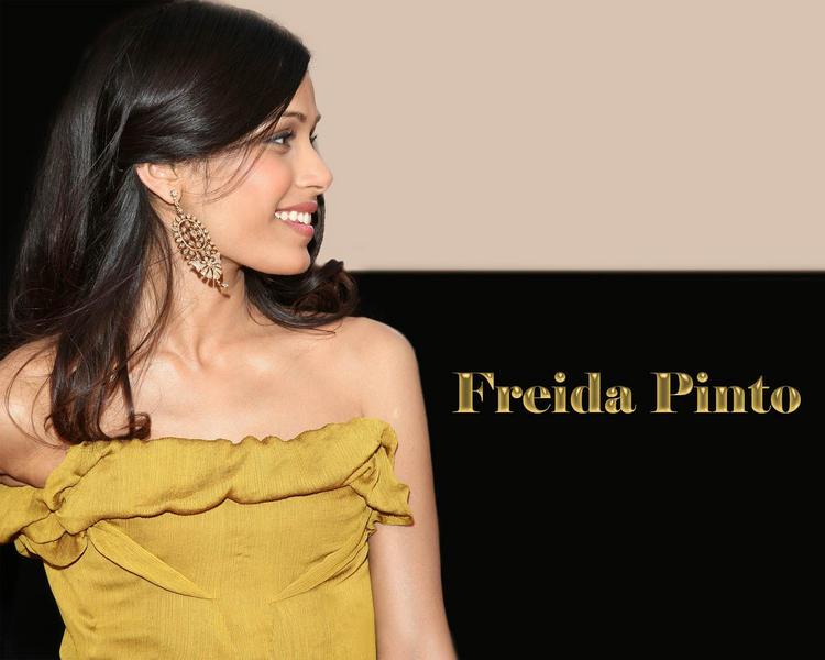 Actress and Model Freida Pinto wallpapers