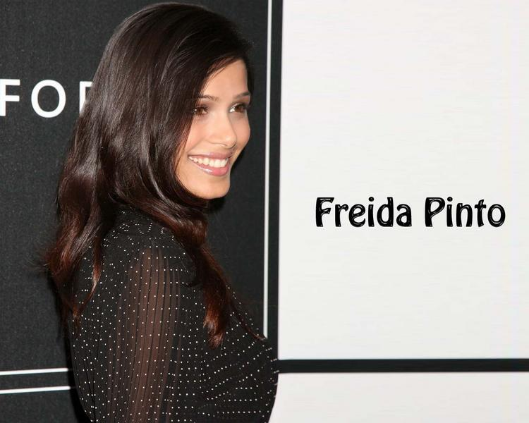Freida Pinto sexy look wallpaper