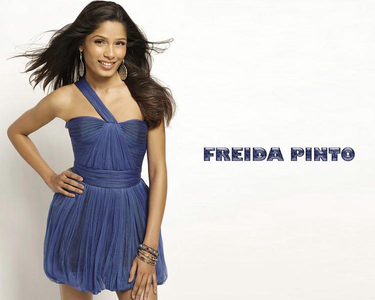 Glorious Freida Pinto wallpaper