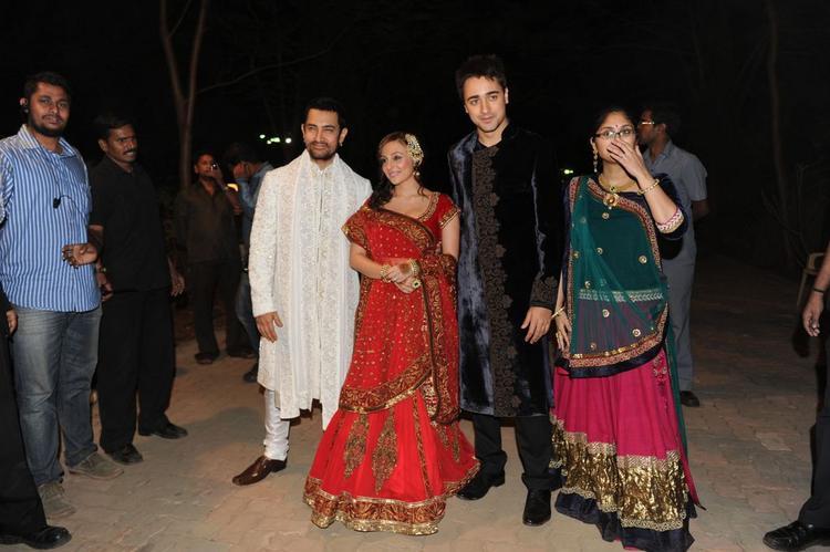 Imran Khan with Avantika Malik, Aamir, Kiran