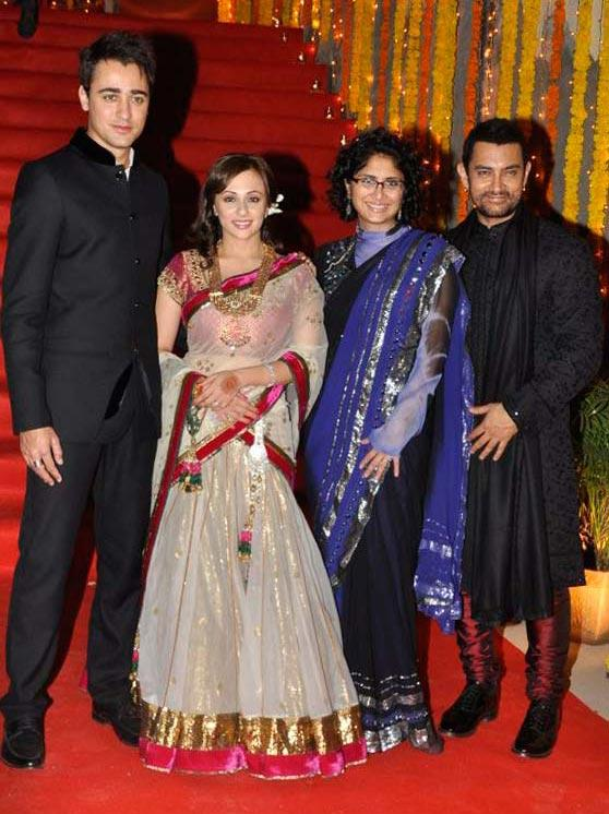 Imran Khan and Avantika Malik's Wedding photo