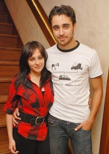 Imran khan and Avantika Malik cute photo