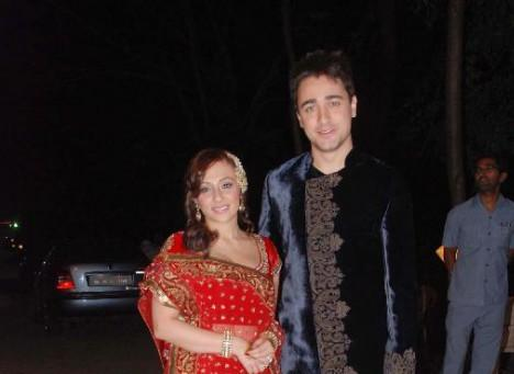 Imran Khan Avantika wedding sangeet ceremony photos