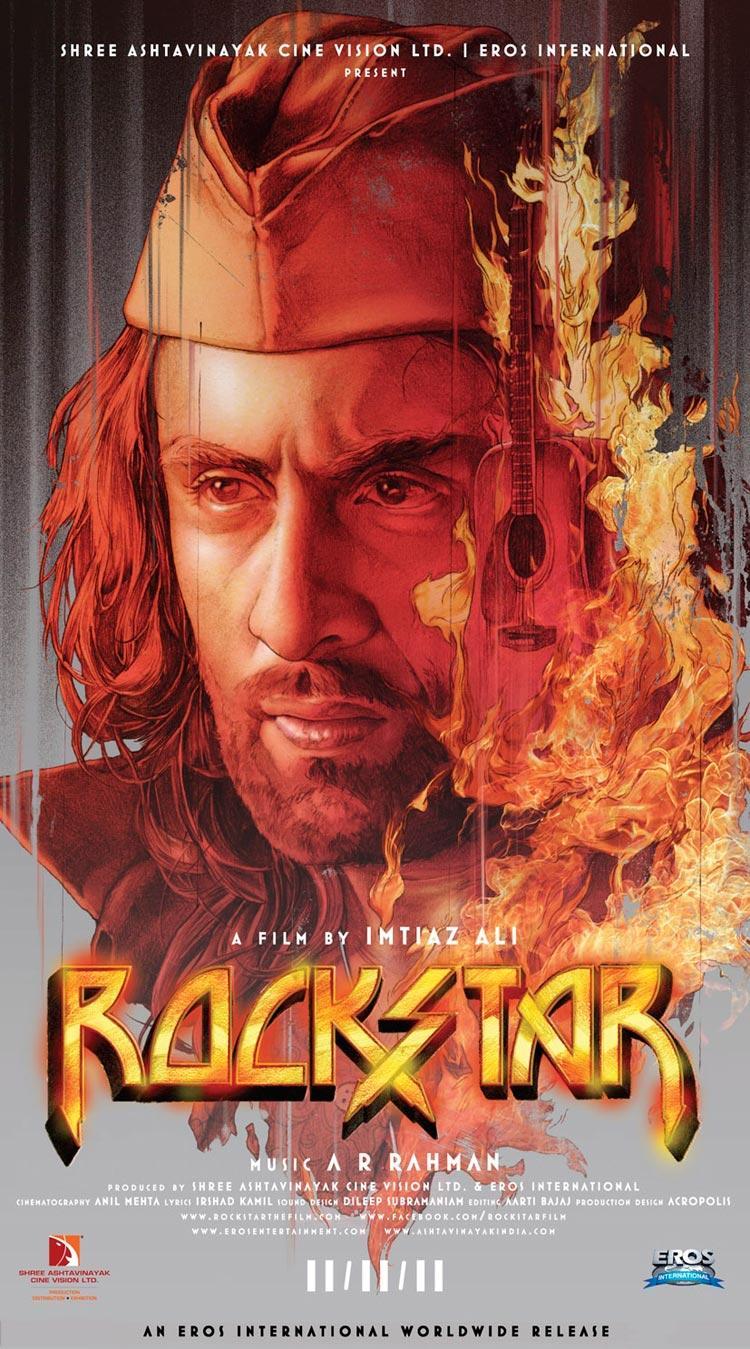 Ranbir Kapoor Rockstar Poster