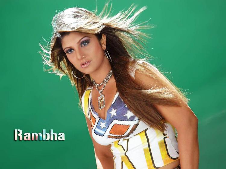 Rambha hottest pics