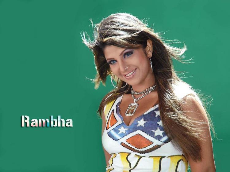Rambha sexy look