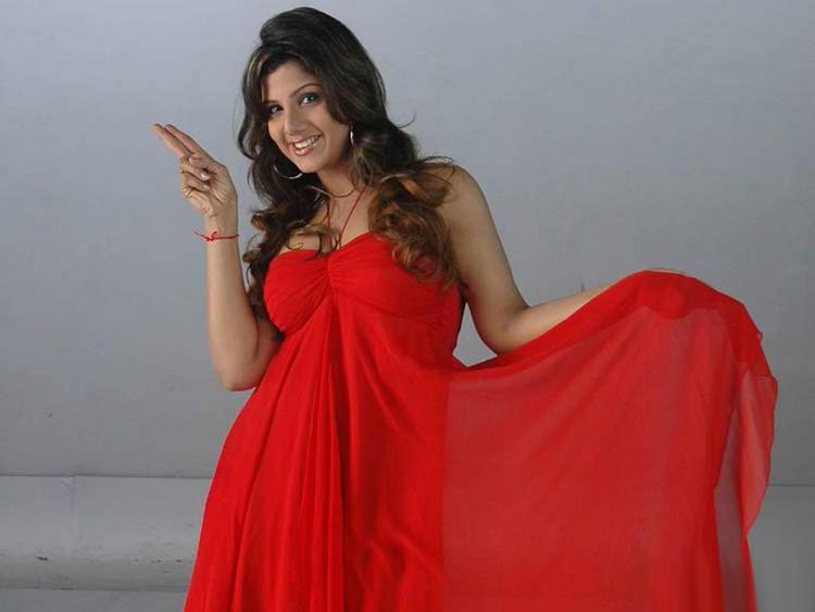 Rambha red hot images