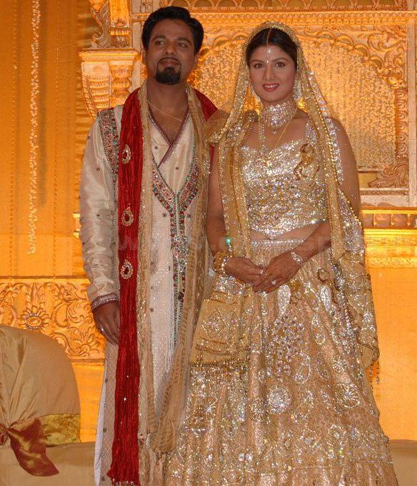 Rambha reception photos
