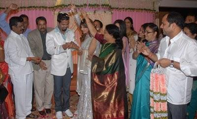 Rambha engagement photos
