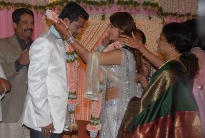 Rambha engagement pics