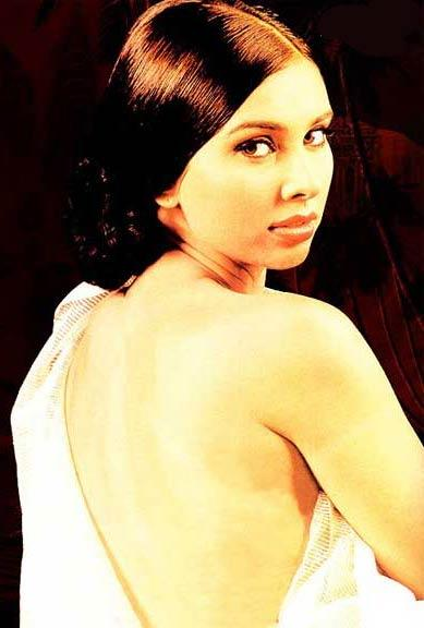 Lisa Ray backless dress photoshoot