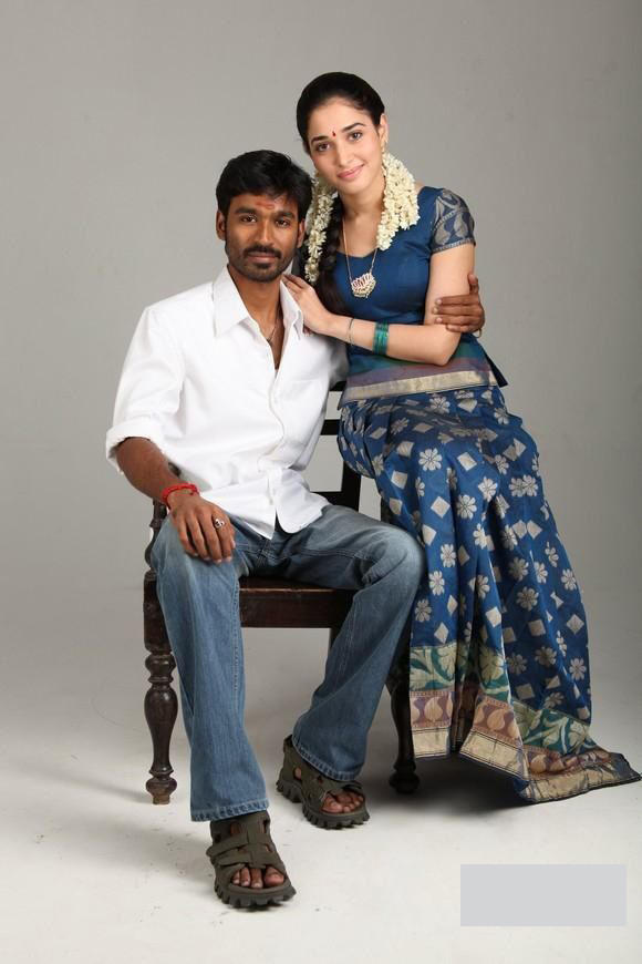Dhanush & Tamana Photoshoot for Tamil movie 'Vengai'