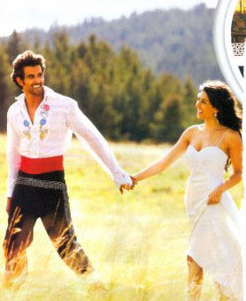 Barbara Mori and Hrithik Roshan in Kites