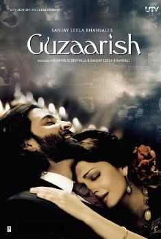 Aishwarya Rai and Hrithik Roshan Guzaarish movie wallpaper
