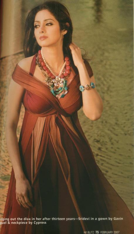 Sridevi beautiful dress pic wallpaper