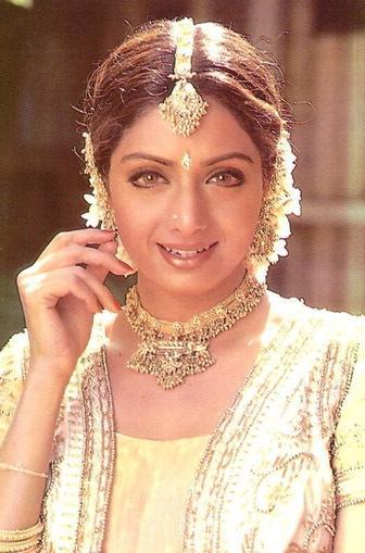 Sridevi looking beautiful
