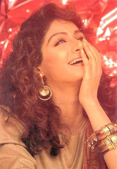 Gorgeous Sri Devi smilling face
