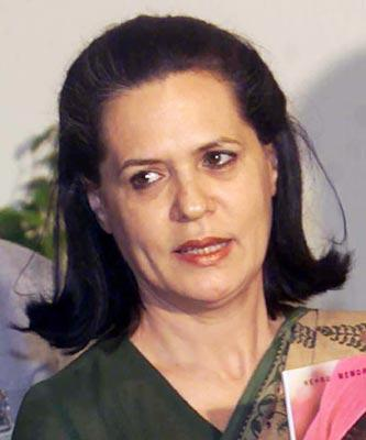 Sonia Gandhi Cute Pics